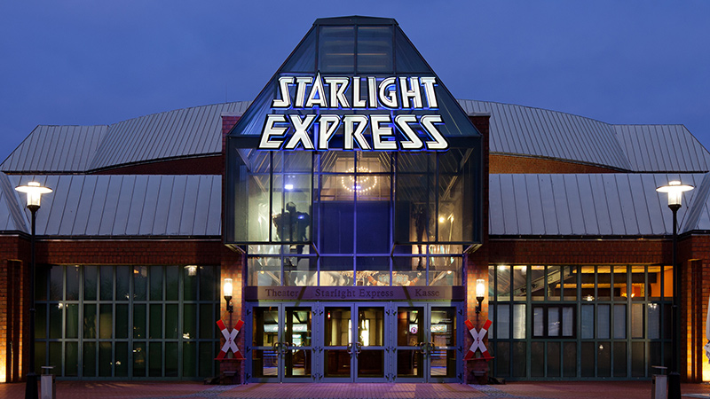 Starlight Express-Theater