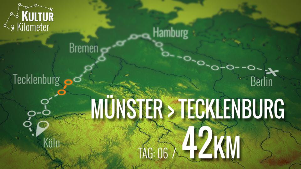 KulturKilometer – Tag 06: Von Münster nach Tecklenburg