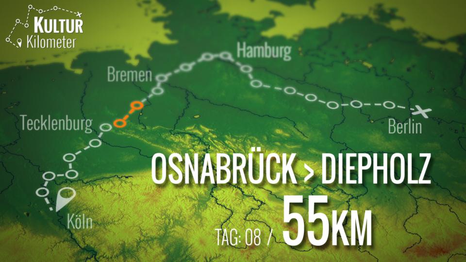 KulturKilometer – Tag 08: Von Osnabrück nach Diepholz