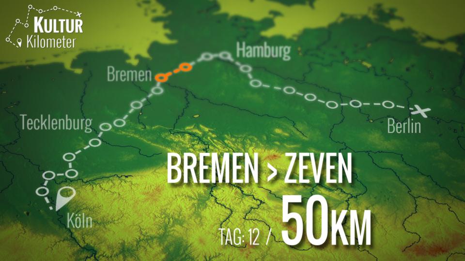 KulturKilometer – Tag 12: Von  Bremen nach Zeven