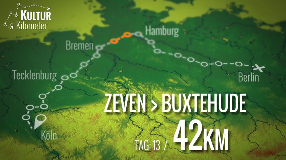 KulturKilometer – Tag 13: Von Zeven nach Buxtehude