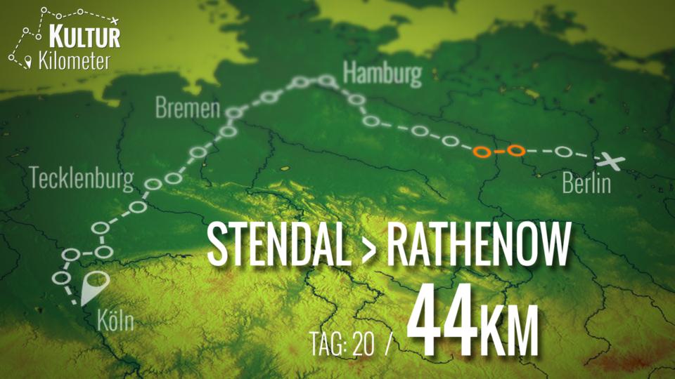 KulturKilometer – Tag 20: Von Stendal nach Rathenow