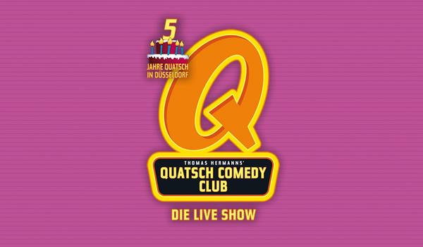 Fünf Jahre QUATSCH COMEDY CLUB in Düsseldorf