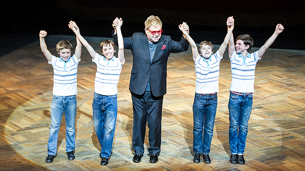 Was Elton John & BILLY ELLIOT-THE MUSICAL gemeinsam haben!