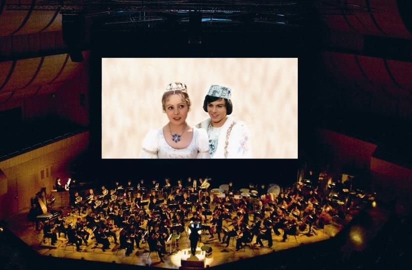 Drei Haselnüsse für Aschenbrödel – Der Filmklassiker mit großem Liveorchester