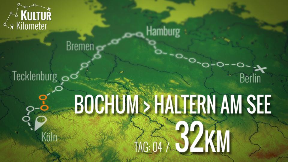KulturKilometer – Tag 04: Von  Bochum nach Haltern am See
