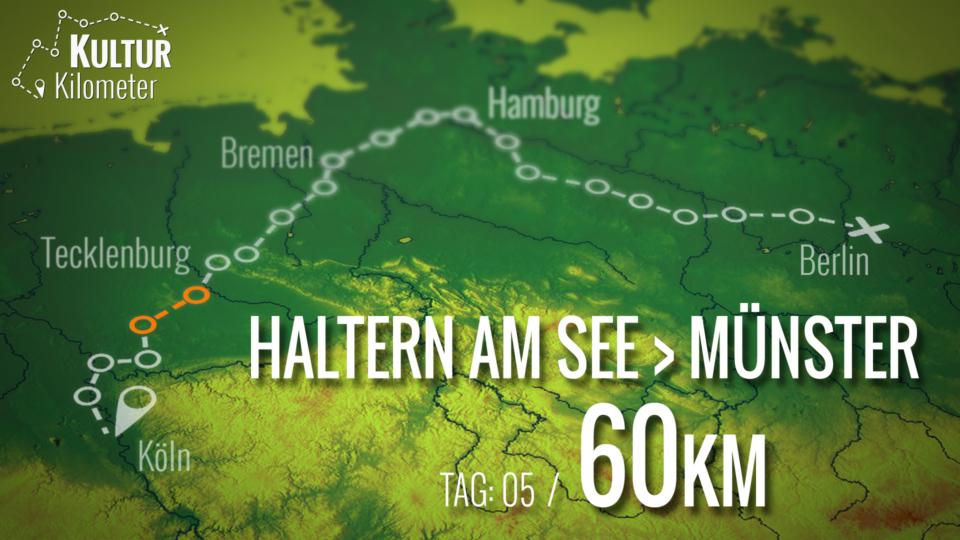 KulturKilometer – Tag 05: Von  Haltern am See nach Münster