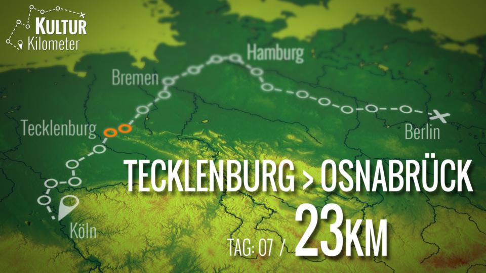 KulturKilometer – Tag 07: Von Tecklenburg nach Osnabrück
