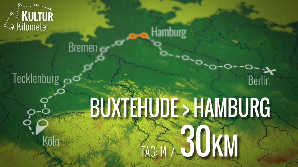 KulturKilometer – Tag 14: Von Buxtehude nach Hamburg