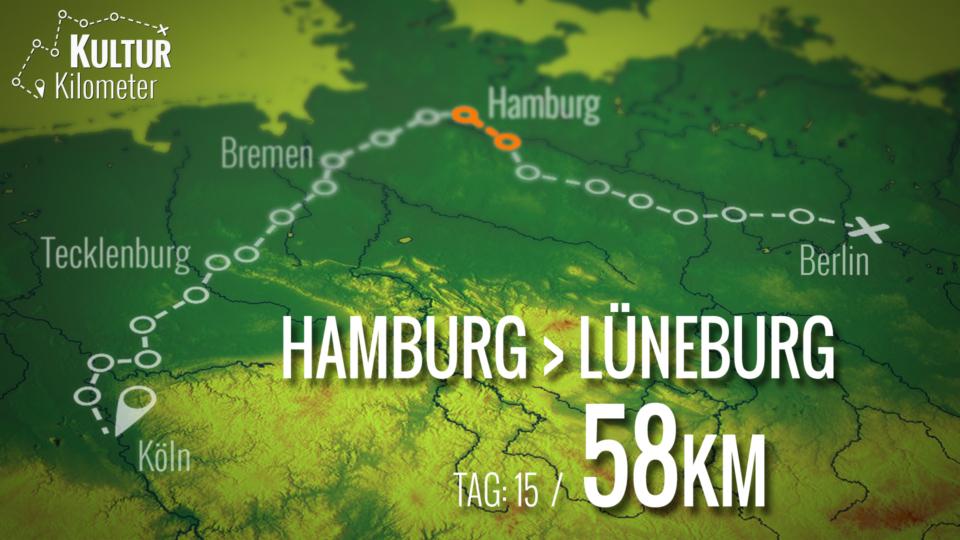 KulturKilometer – Tag 15: Von Hamburg nach Lüneburg