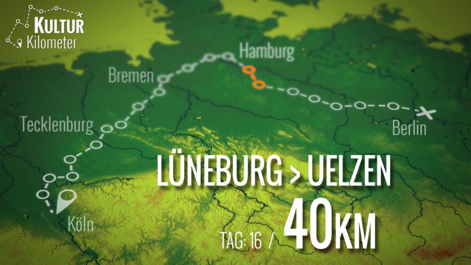 KulturKilometer – Tag 16: Von Lüneburg nach Uelzen