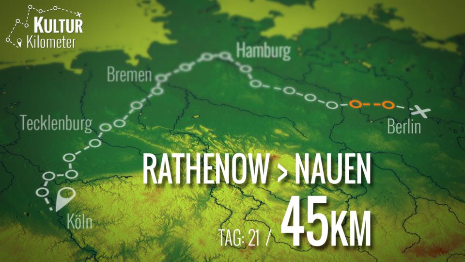 KulturKilometer – Tag 21: Von Rathenow nach Nauen